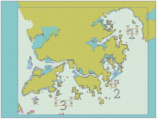 人類骨灰撒海的指定地點地圖